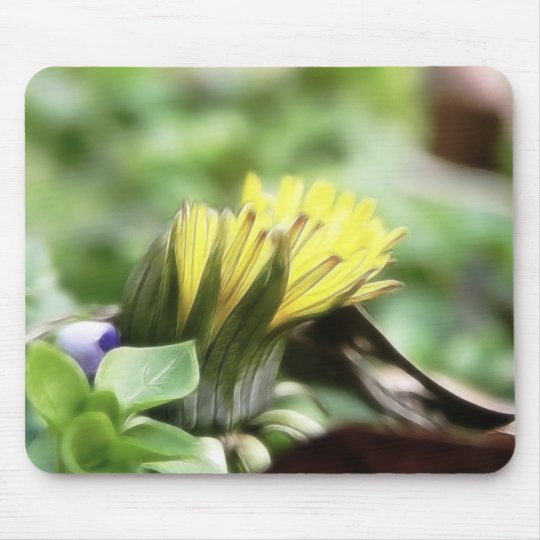 First Dandelion of the Season Mouse Pad