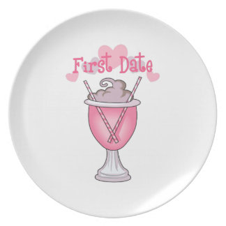 FIRST DATE PARTY PLATE