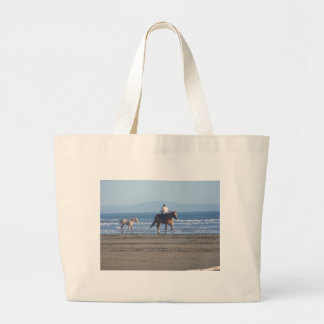 First Day at the Beach Jumbo Tote Bag