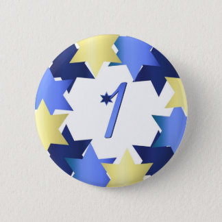 First Day of Hanukkah Button