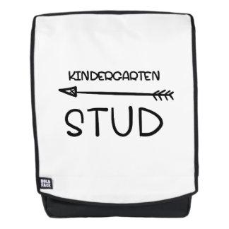 First day Of School 2017  Kindergarten Studs Backpack