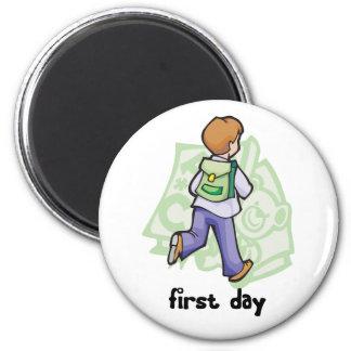 First Day Of School Fridge Magnet