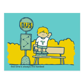 First Day of School Tshirts and Gifts Postcard