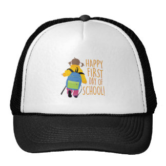 First Day School Trucker Hat