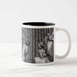 First Design for The Enraged Musician, 1799 Two-Tone Coffee Mug