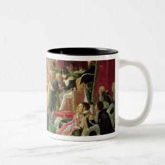 First Distribution of Crosses of Legion of Honour Two-Tone Coffee Mug