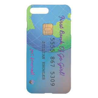 First Divorce Credit Card iPhone 7 Plus Case