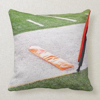 First Down Marker Throw Pillow