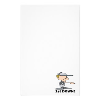 First Down Stationery Paper