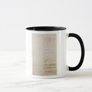 First draft of the Constitution of the U.S. Mug