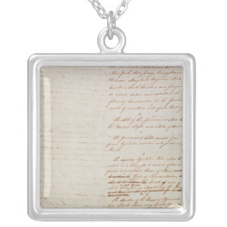 First draft of the Constitution of the U.S. Pendants