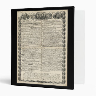 First Draft of the Declaration of Independence Binder