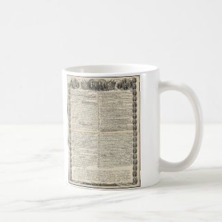 First Draft of the Declaration of Independence Coffee Mug