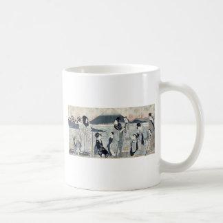 First dream by Kitagawa,Utamaro Coffee Mugs