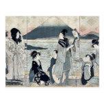 First dream by Kitagawa,Utamaro Post Cards