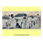 First dream by Kitagawa,Utamaro Postcard