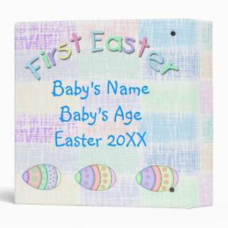 "First Easter Baby Boy 1.5"" Memory Binder"