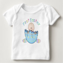 First Easter Baby Boy Infant Long Sleeve Tee