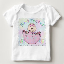 First Easter Baby Girl Infant Long Sleeve Tee