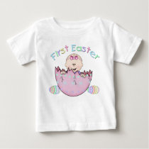 First Easter Baby Girl Infant T-Shirt