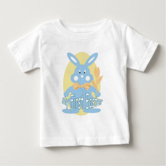 First Easter Blue Bunny Baby T-shirt