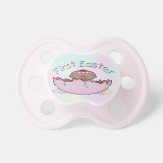 First Easter Ethnic Baby Girl Pacifier