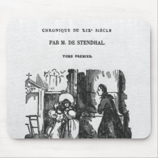 First Edition of 'The Red and the Black' Mouse Pad