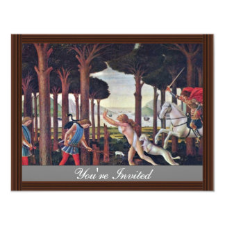 """First Episode """" By Botticelli Sandro Personalized Invite"""