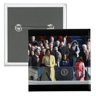 First Family 2009 Inauguration Button