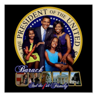 First Family Obama's Poster