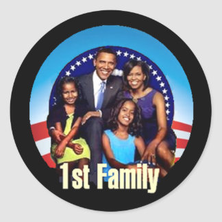 First Family Sticker