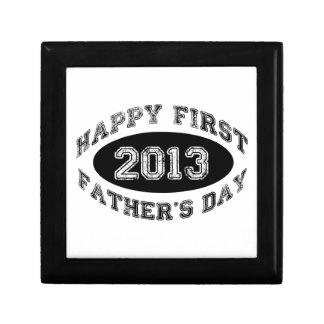 First Father s Day Keepsake Box