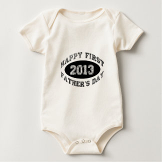 First Father's Day Baby Bodysuit