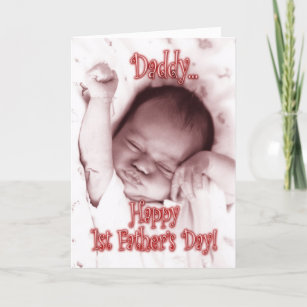 d890885f First Father's Day from Daughter - Stretching Girl Card