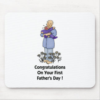 First Father's Day Mousepads