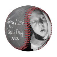 First Fathers Day Personalized One Of A Kind Baseball