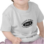 First Father's Day Tee Shirts