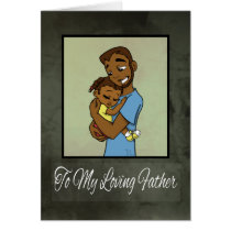 """""""First Father's Day with Daughter"""" Card"""