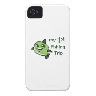 FIRST FISHING TRIP iPhone 4 Case-Mate CASES