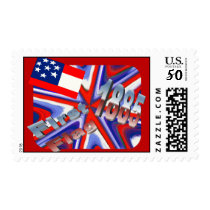 First Flag 1885 ~ American Art Postage