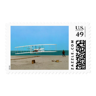 First Flight 1903 Wright Brothers Postage Stamps