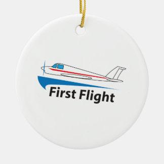 FIRST FLIGHT CERAMIC ORNAMENT