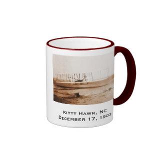 First Flight Coffee Mugs