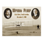 First flight of the 1903 Wright Flyer Post Cards