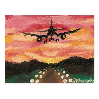 First Flight Postcard