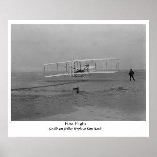 First Flight Poster