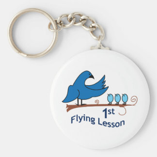 FIRST FLYING LESSONS KEYCHAINS