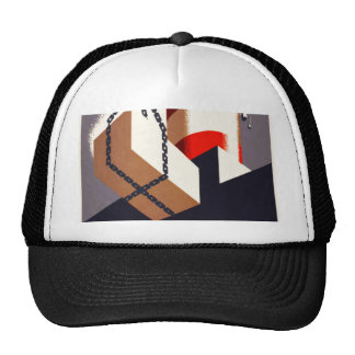 First Foreign Trade Zone Mesh Hat