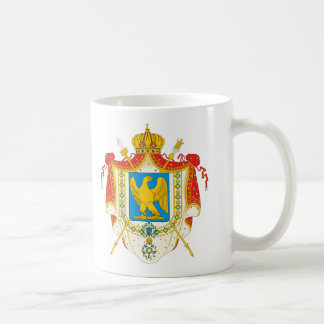 First French Empire Coat of Arms (1804) Classic White Coffee Mug