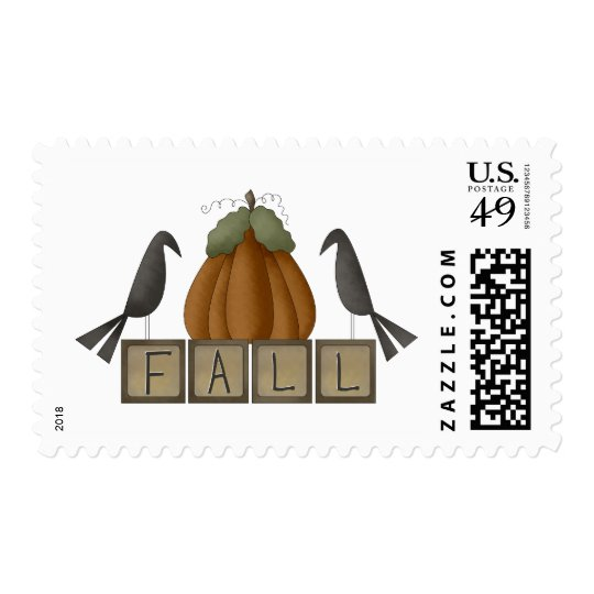 First Frost · Fall Blocks Postage